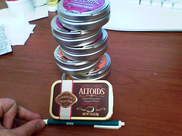 chocolate dipped mints altoids