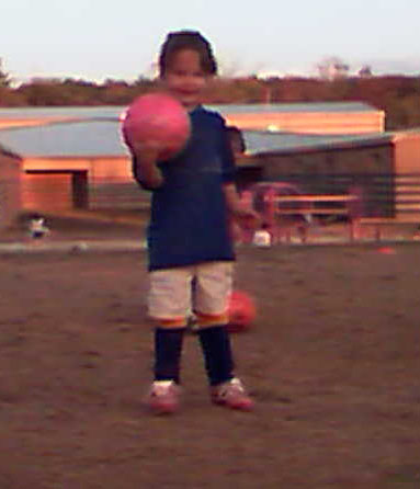 blurry jocelyn soccer