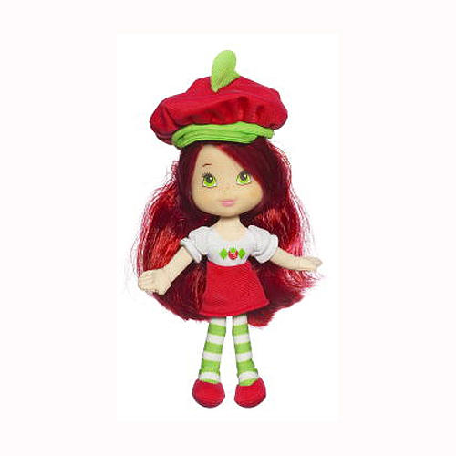 soft strawberry doll