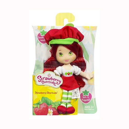 soft strawberry doll box