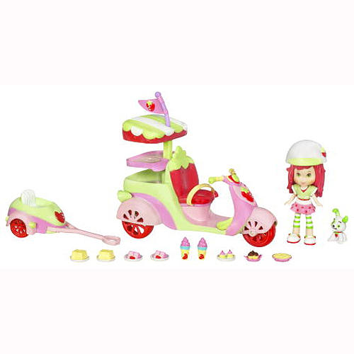 strawberry scooter