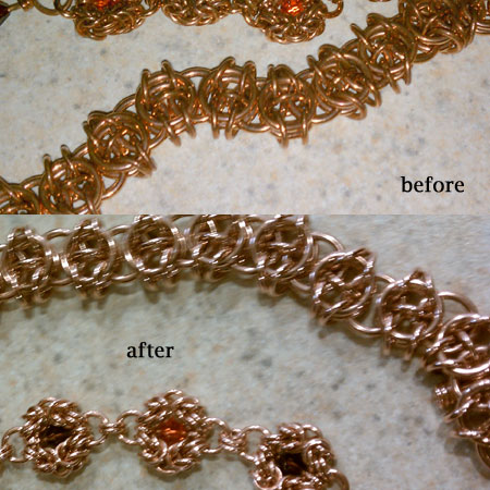 Crazymokes 187 Cleaning Your Copper Jewelry